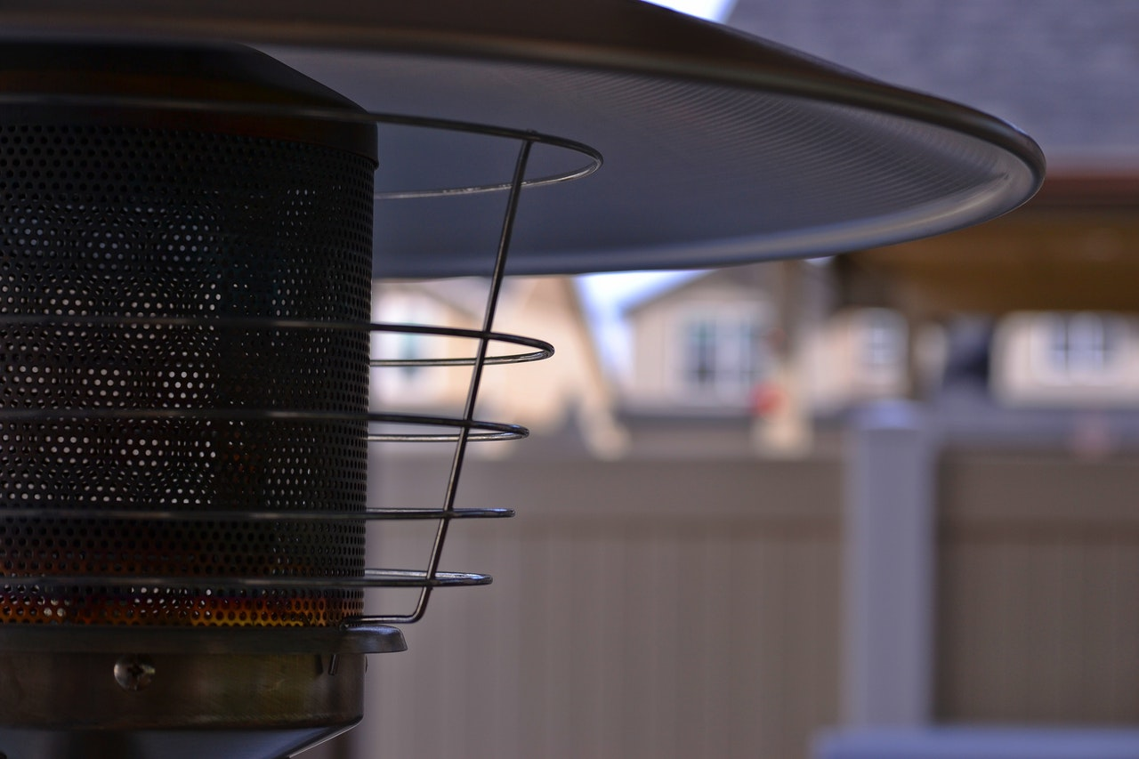 värmare terrass